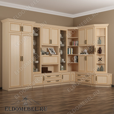 Угловые стенки для гостиных купить в России)