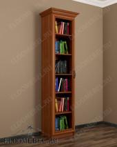 Книжный шкаф одностворчатый ШККН (I) №1 в цвете «ольха»