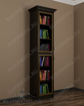 Шкаф книжный ШККН (I) №2 в цвете «венге»